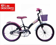 Bicicleta Fashion High Dalannio Aro 20